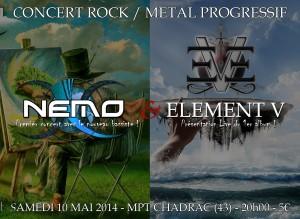 concert NEMO mai 2014