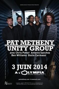pat metheny unity group_20x30_bd