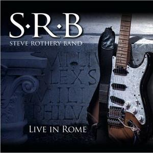 pochette STEVE ROTHERY LIVE in Rome 300