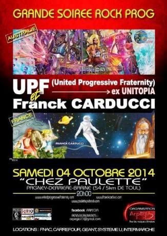 affiche Carducci -UPF rectangle