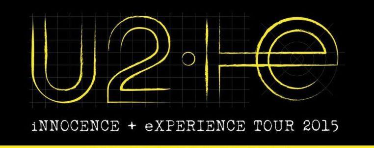 affiche U2 2015