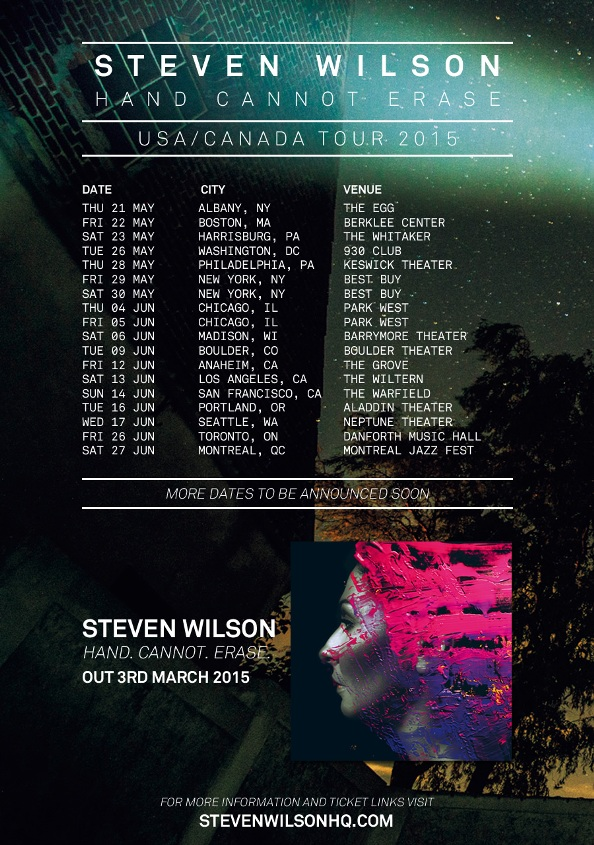 affiche STEVEN WILSON SW-USA-CANADA-2015-POSTER-WIDE-JPG-4