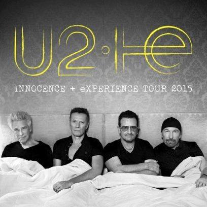 affiche U2 2015 4 membres
