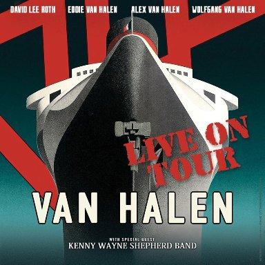 AFFICHE VAN HALEN TOUR usa 2015n