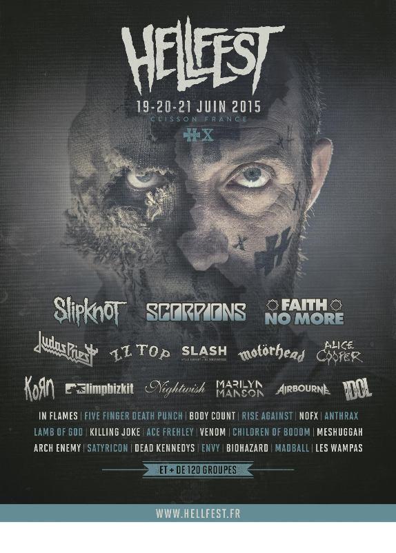 AFFICHE hellfest-2015