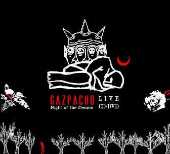 POCHETTE gazpacho 2 dvd cd