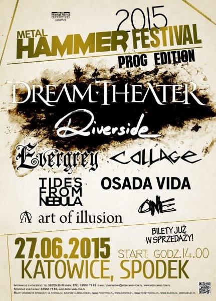 affiche metal hammer festival katowice POLOGNE