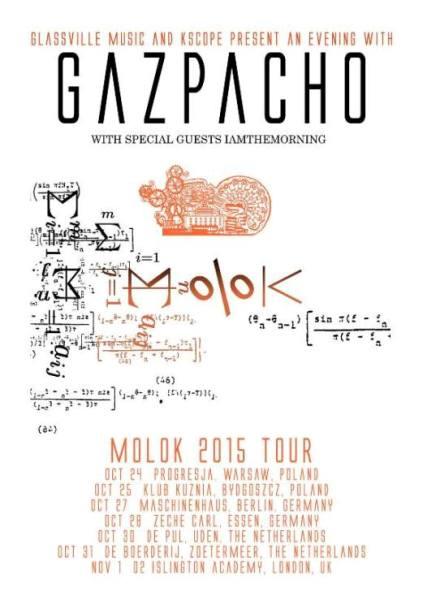 affiche GAZPACHO TOUR 2015