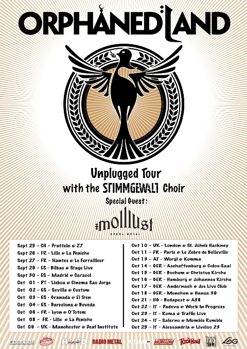 affiche Orphaned Land