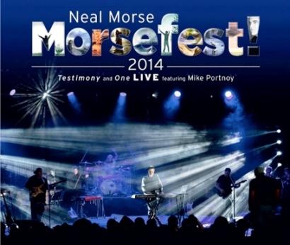 pochette Neal Morse Morsefest