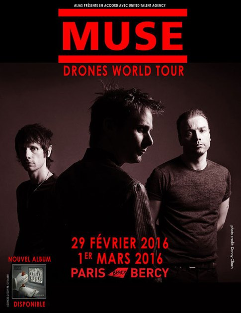 affiche muse bercy 2016