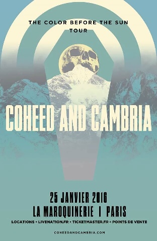 affiche coheed and cambria
