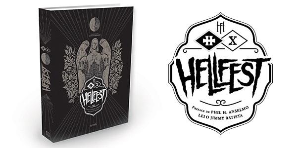 affiche livre hellfest