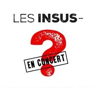 affiche LES INSUS en concert