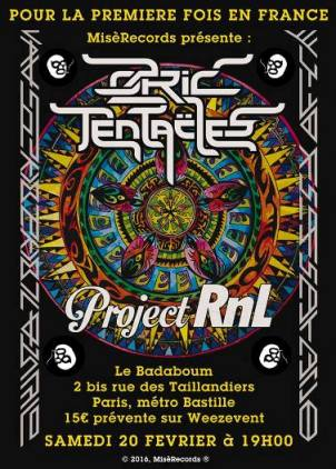 affiche OZRIC TENTACLES