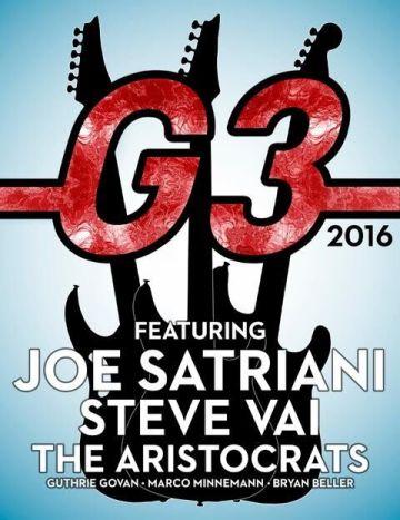 affiche G3 satriani aristocrats G3