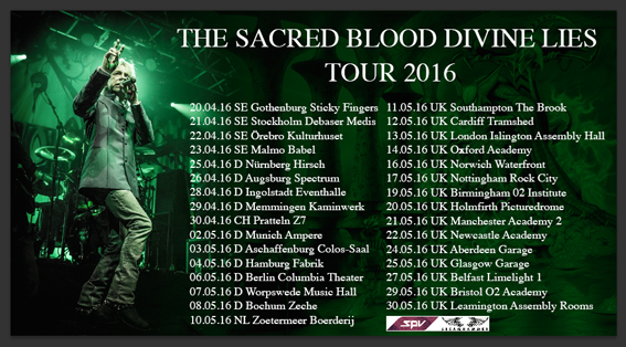 AFFICHE MAGNUM tour 2016