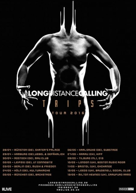 affiche LONG DISTANT CALLING TOUR 2016