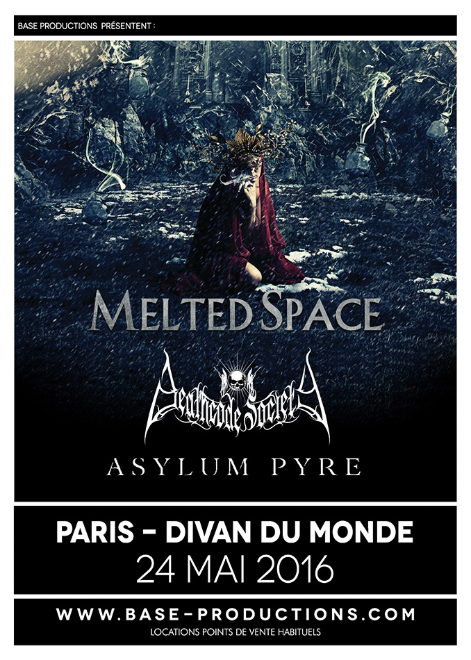 affiche MELTED SPACE