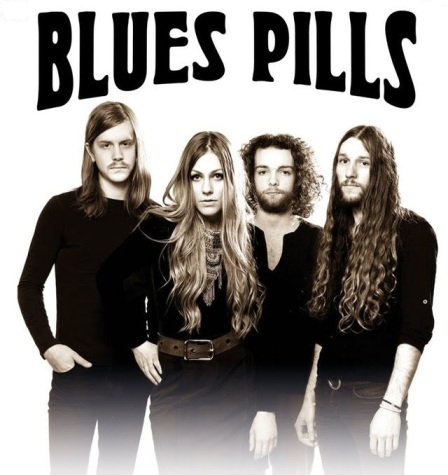 pochette BLUE PILLS
