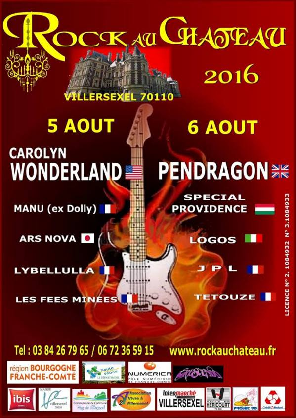 rock au chateau 2016
