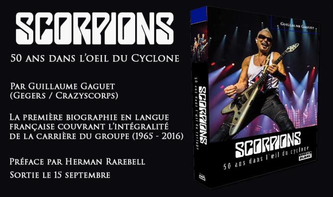 Scorpions livre