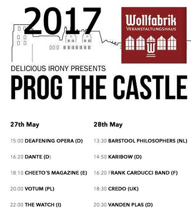 PROG THE CASTLE 2017 2017